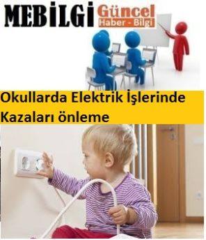 Okullarda Elektrik kazaları
